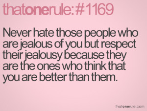 Jealous Friends Quotes Of jealousy and the 5 '