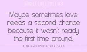 500 x 300 · 13 kB · jpeg, Second Chances Quotes Relationship