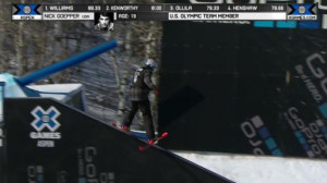 nick goepper holds on for gold at x games