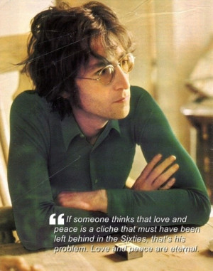 John lennon, quotes, sayings, love, peace, pictures