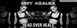 Work Lyrics - Iggy Azalea Profile Facebook Covers