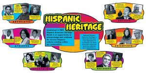 Hispanic Heritage Bulletin Board Set