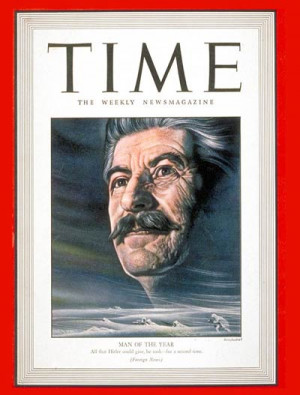 TIME Magazine Cover: Joseph Stalin, Man of the Year -- Jan. 4, 1943