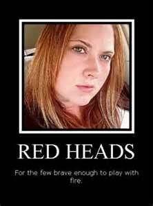 True Red head Love