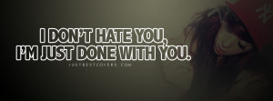 Dont Hate Facebook Cover Photo