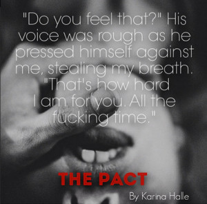 SURPRISE RELEASE! The Pact by Karina Halle