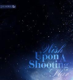 Wish Upon a Star Wedding Rings - Palladium Sterling Shooting Star ...