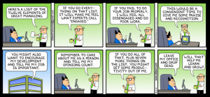 Our favourite Dilbert cartoons