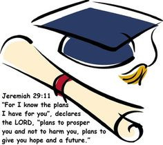 Click the image for encouraging Bible verses for graduates. More