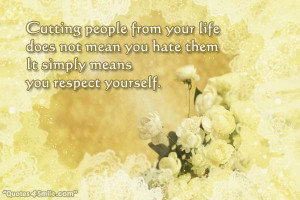 You Respect Yourself