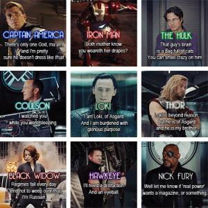 avengers quotes