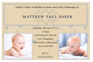 Christening Baptism Invitation Quotes