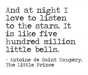 Inspiring quote by Antoine De Saint Exupery, The Little Prince