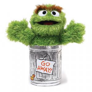 Toy Spotlight: Sesame Street Oscar The Grouch 10-Inch Plush