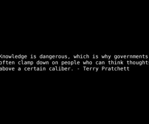 quotes terry pratchett knowledge government quote HD Wallpaper of ...