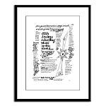Rabbi R. Wolf Quotes -v.22.1- Large Framed Print
