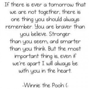 Winnie the pooh was such a smart bear!