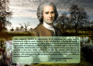 Jean Jacques Rousseau Quotes Animal frater: jean jacques