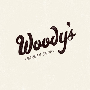 Woody's Barber Shop by Chris Craig, via Behance