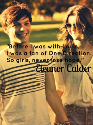 louis tomlinson One Direction MY EDIT heart eleanor calder never give ...