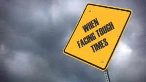 Life is tough. You are going to have some setbacks and breakdowns ...