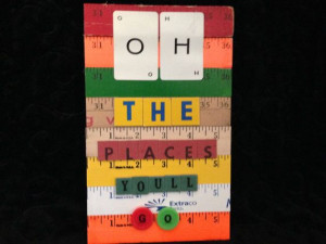 Oh The Places We'll Go Dr. Seuss Inspired Upcycled by CarosCorner, $30 ...