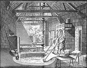 Natural Dyeing - Eighteenth Century Dyeshop