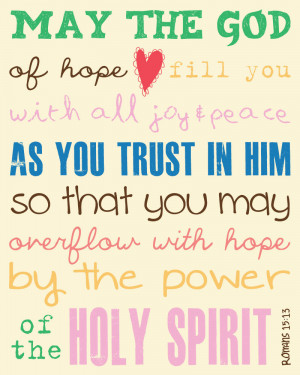 Bible Verses Faith And Trust