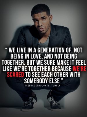 because, but we sure, doing it wrong, drake, like we',re togheter ...