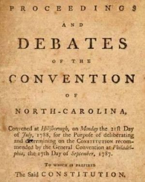 Ratification of the Constitution 1789