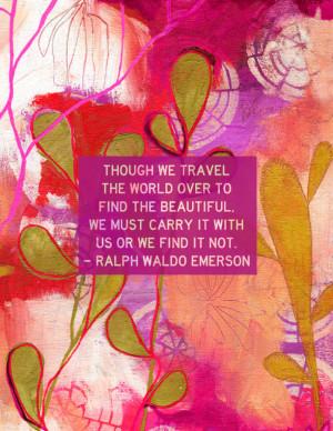 Ralph Waldo Emerson Faith