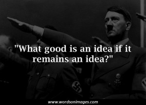 Famous hitler quotes