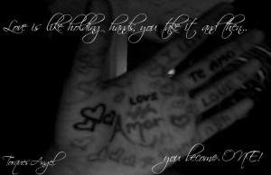 Holding Hands Quote by TorquesAngel