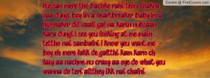 mere tho bachke rahi tenu chakra paa dungi, boy I'm a heartbreaker ...