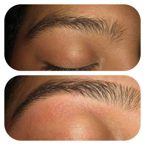 eyebrow threading eyebrow stencil before and after eyebrow threading ...