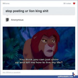 funny, lion king, pumba, quotes, simba, timon, unfriendable