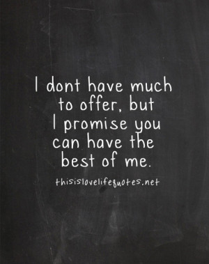 Quotes The Best Of Me
