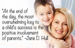 importance of parental involvement in a childs education Parental involvement in education: how do schools get parents involved  importance of parental involvement in education i.