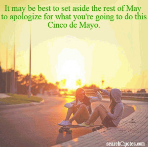 Month Of May Funny Quotes
