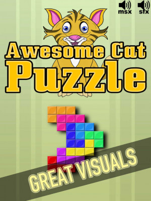 Awesome Cat Puzzle by Two Hands Lab