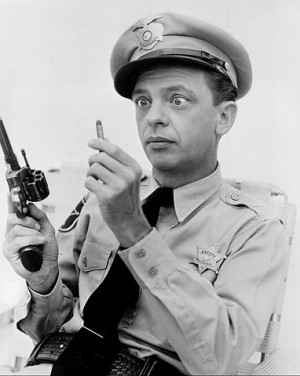 Barney Fife Alert: Don't Look Suspicious in Kilgore's County