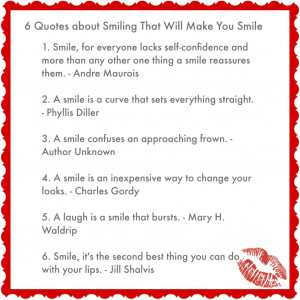 Quotes about Smiling That Will Make You Smile