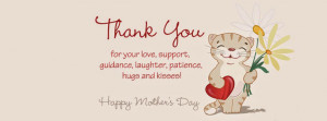 Cute 2015 Happy Mothers Day Quotes Facebook Covers