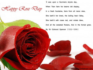 Rose Day 7th February 2013 Wallpapers and Collection