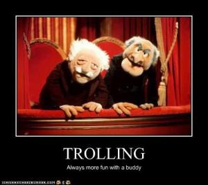 ... funny trolling demotivational lolz the muppet show statler and waldorf