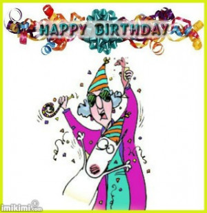 maxine happy birthday wishes