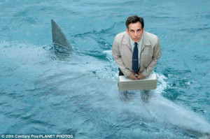 Shark's tale: Ben Stiller riding an ocean predator in The Secret Life ...