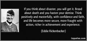 More Eddie Rickenbacker Quotes