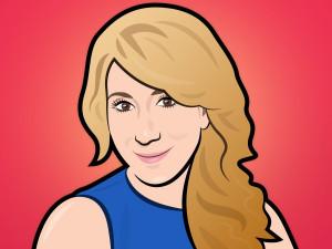 Lori Greiner Shark Tank Portrait Illustration