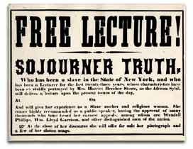 Sojourner Truth Speeches and Commentary